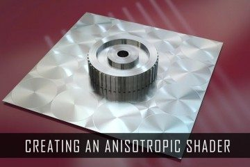 Anisotropic metal shader