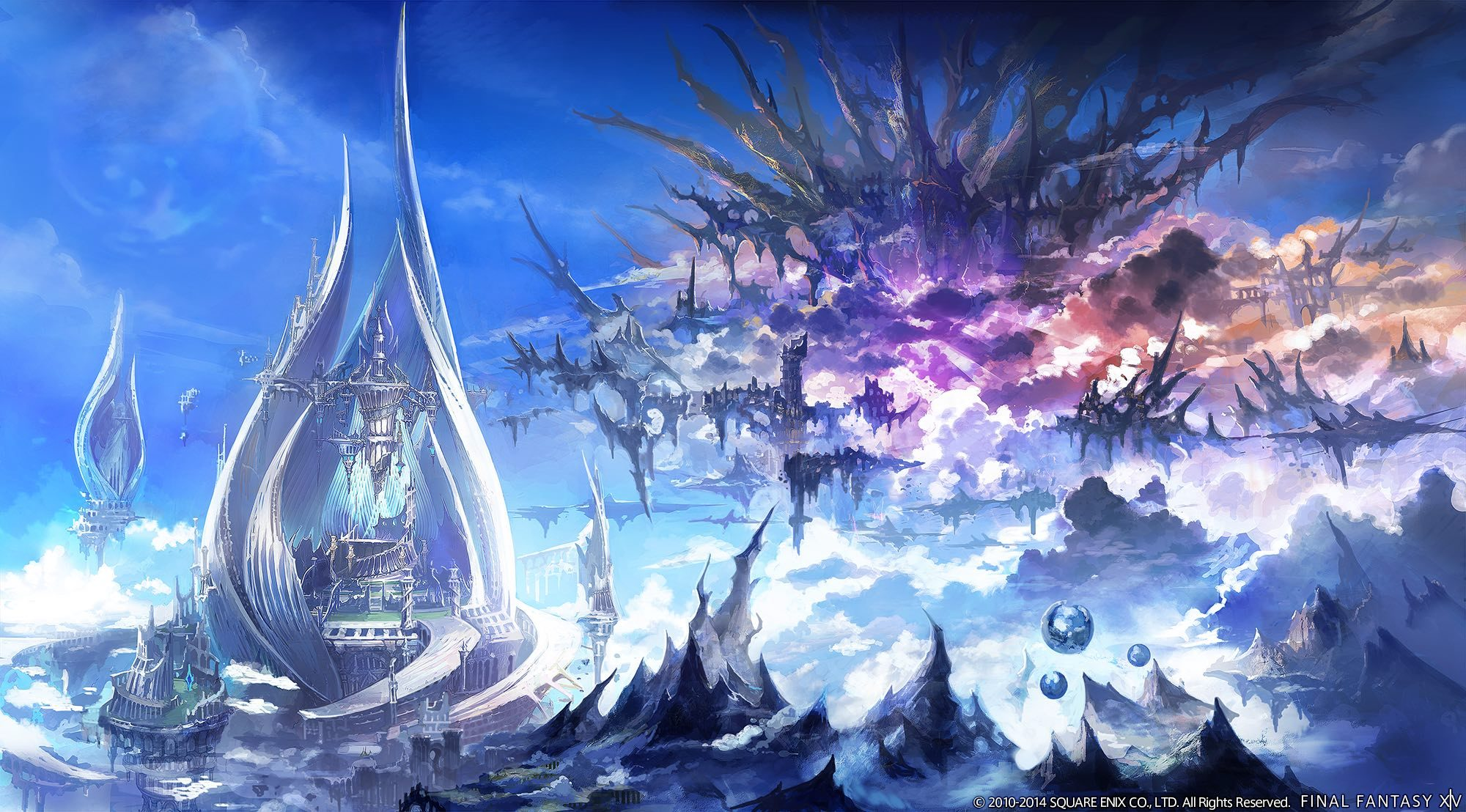 Final Fantasy XIV Concept Art 4 -