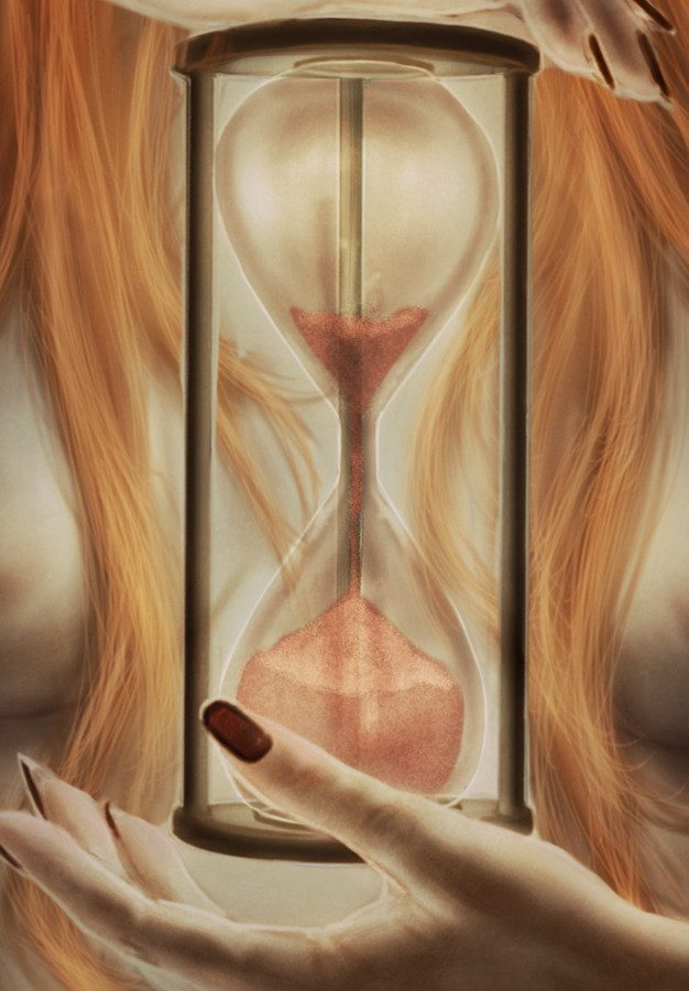 THE WITCH AND THE HOURGLASS -detail1