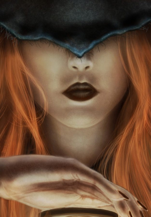 THE WITCH AND THE HOURGLASS -detail2