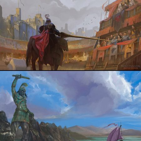 Paolo Puggioni : The World of Ice and Fire