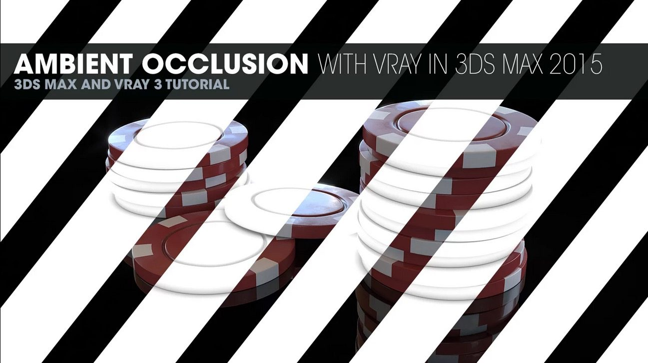 Ambient Occlusion with Vray in 3DS Max 2015