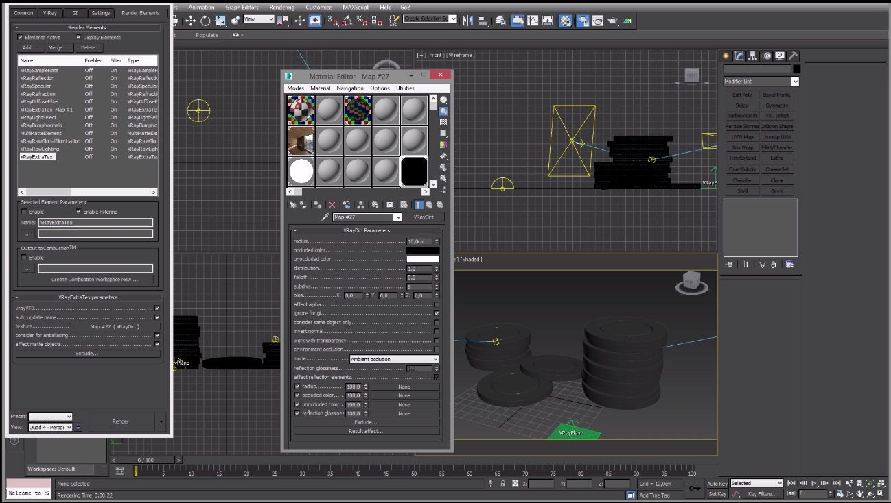 3ds max ambient occlusion