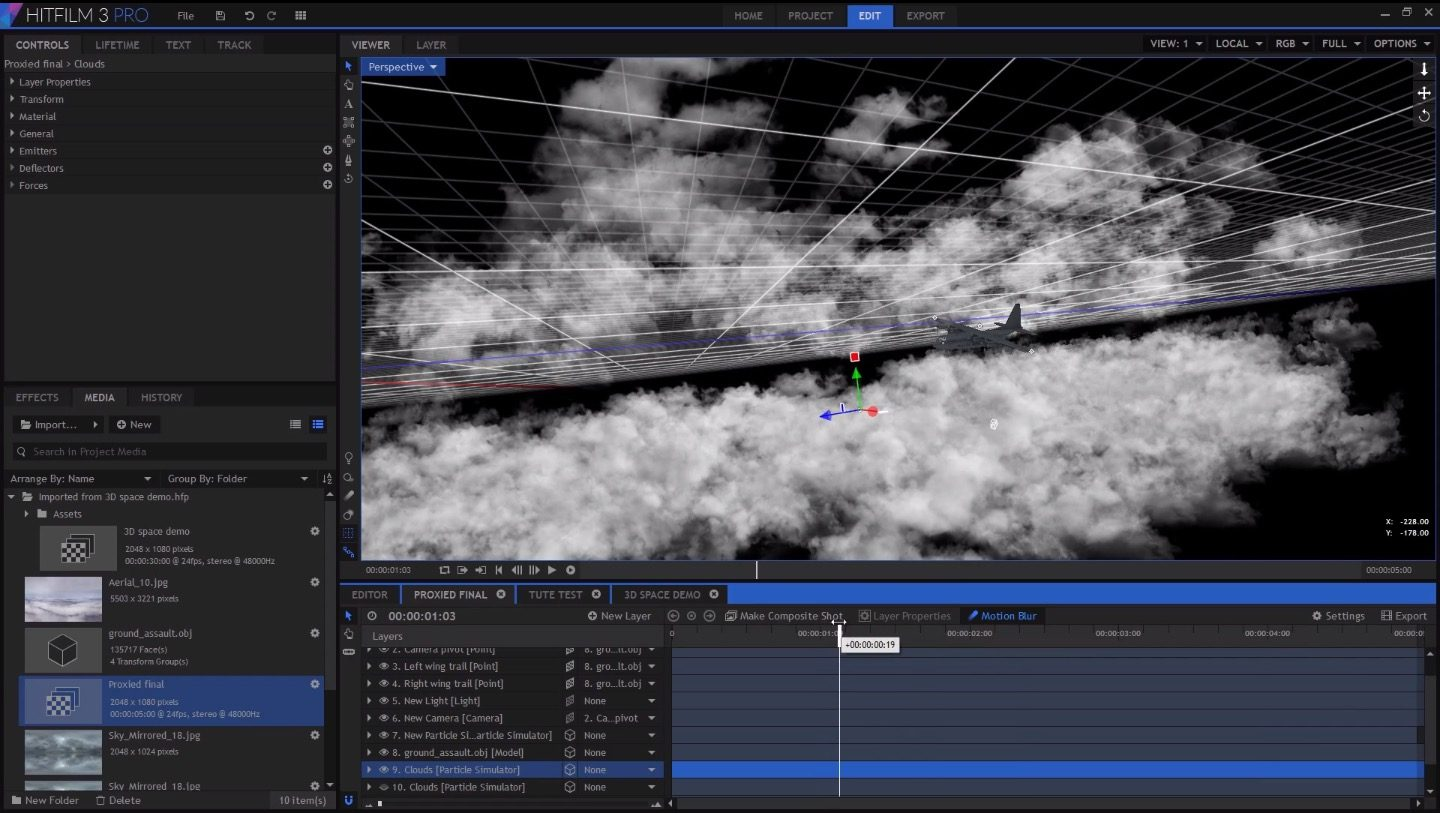 exploring unified 3D space