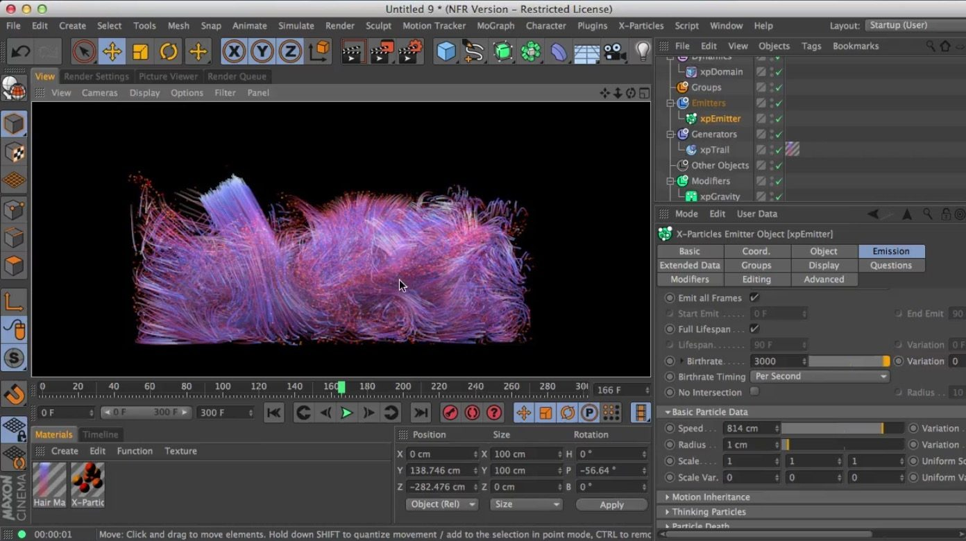 FLIP Liquid Solver in X-Particles 3