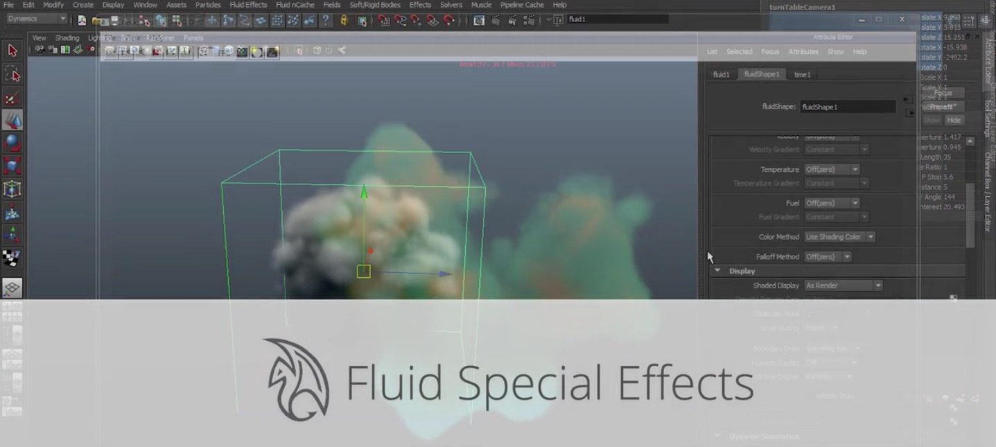 Fluid Special Effects in Maya