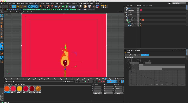 cartoon fire effects