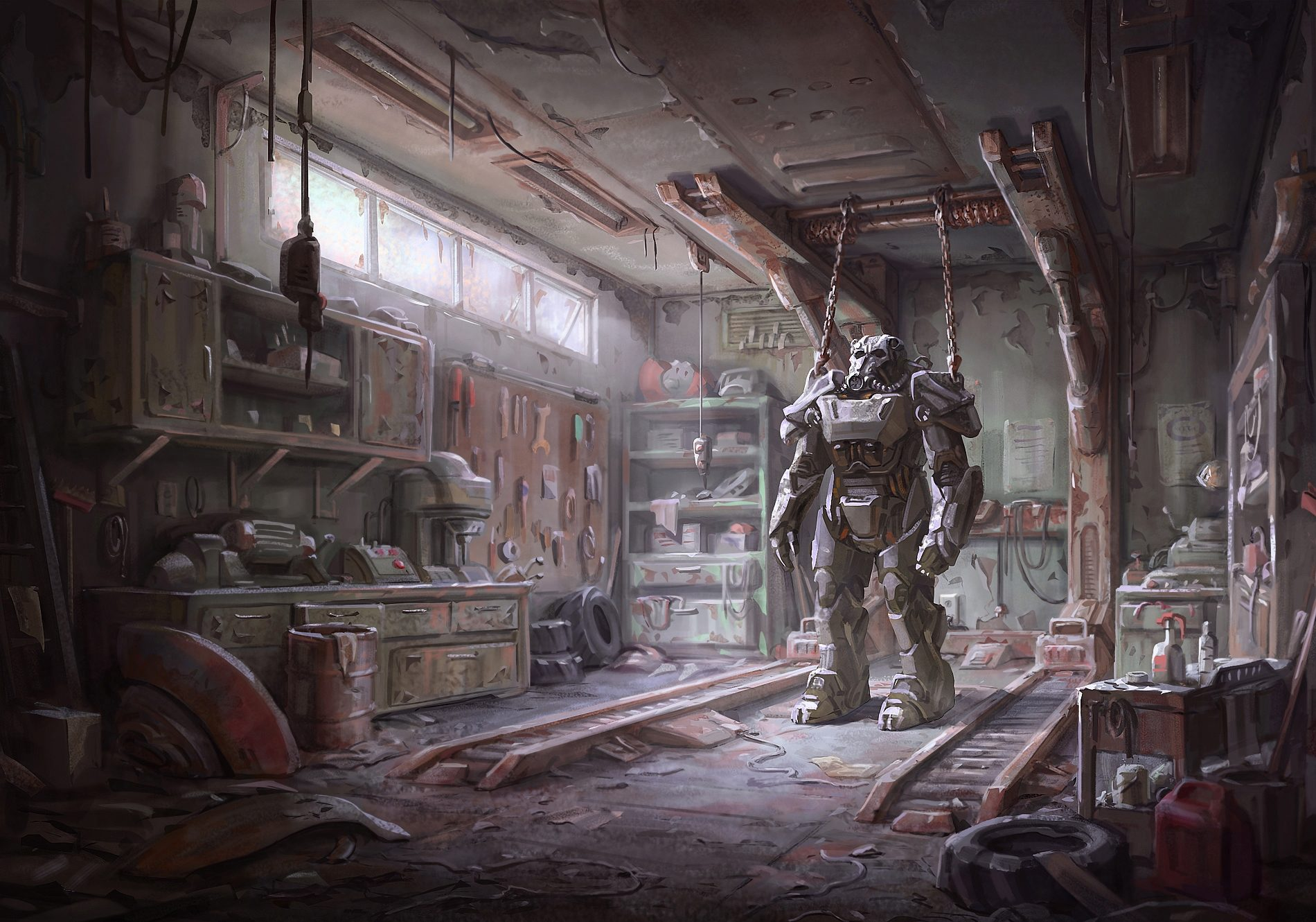 Fallout 4 Exclusive Concept Art and new Trailer