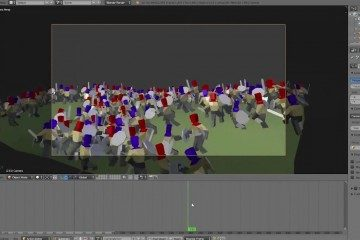 Animate a Battle in Blender