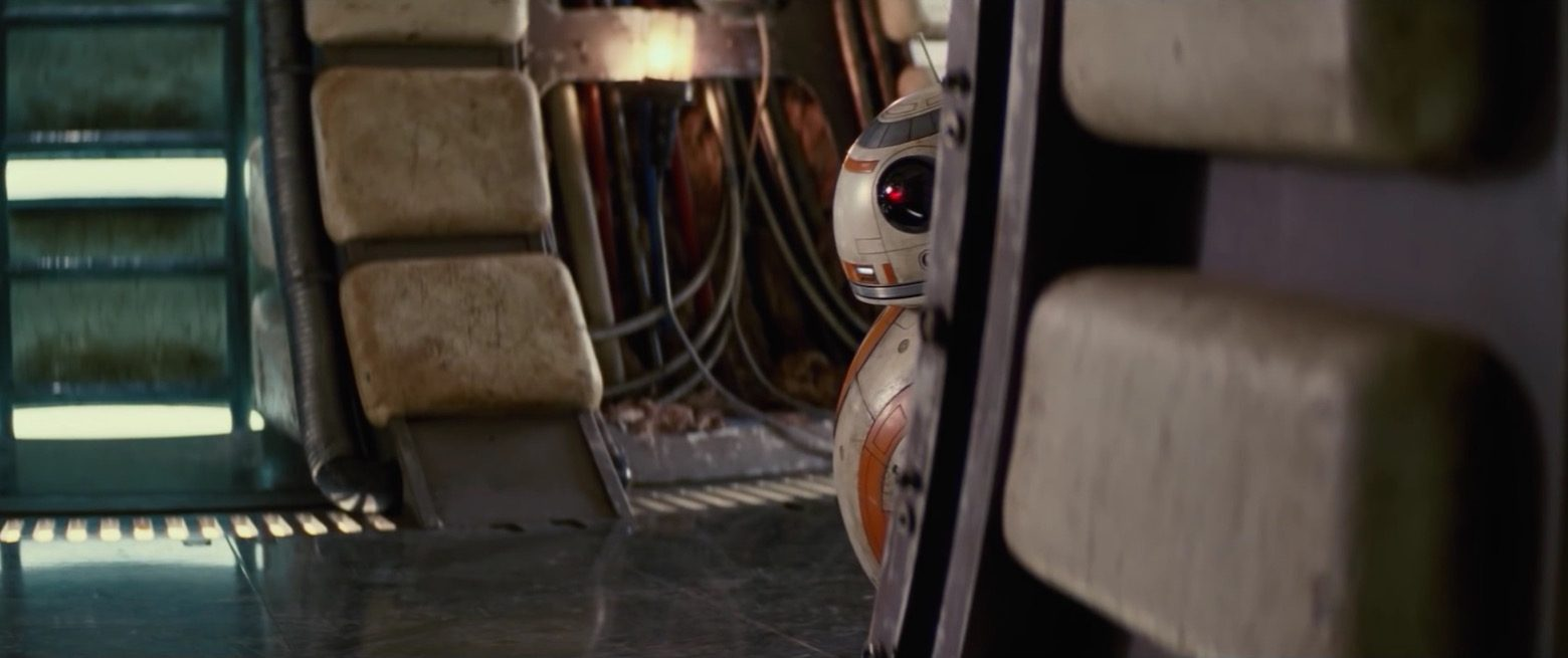 Creating Star Wars VII: The Force Awakens new droid BB-8