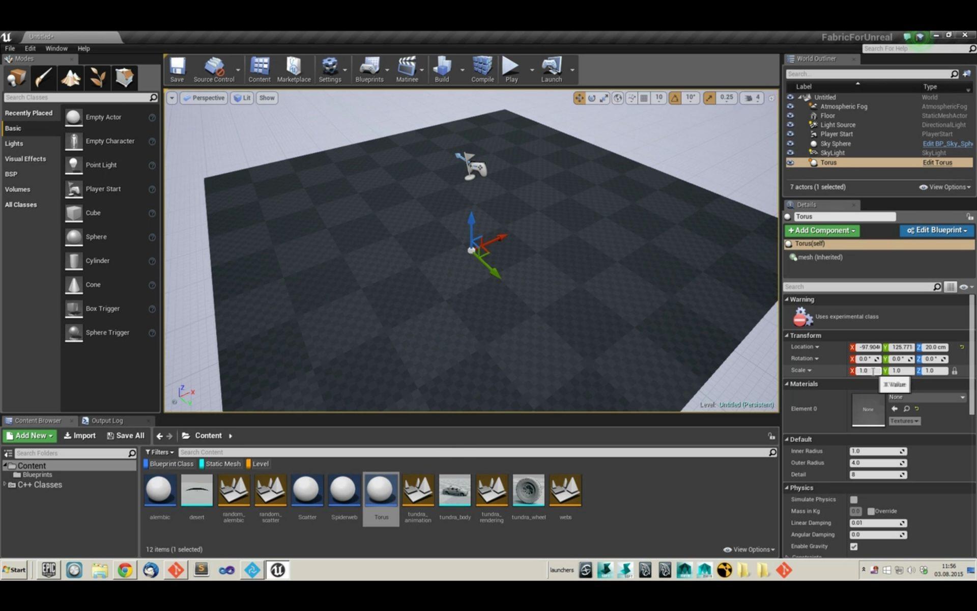 Fabric Engine 2: Unreal Engine 4 integration