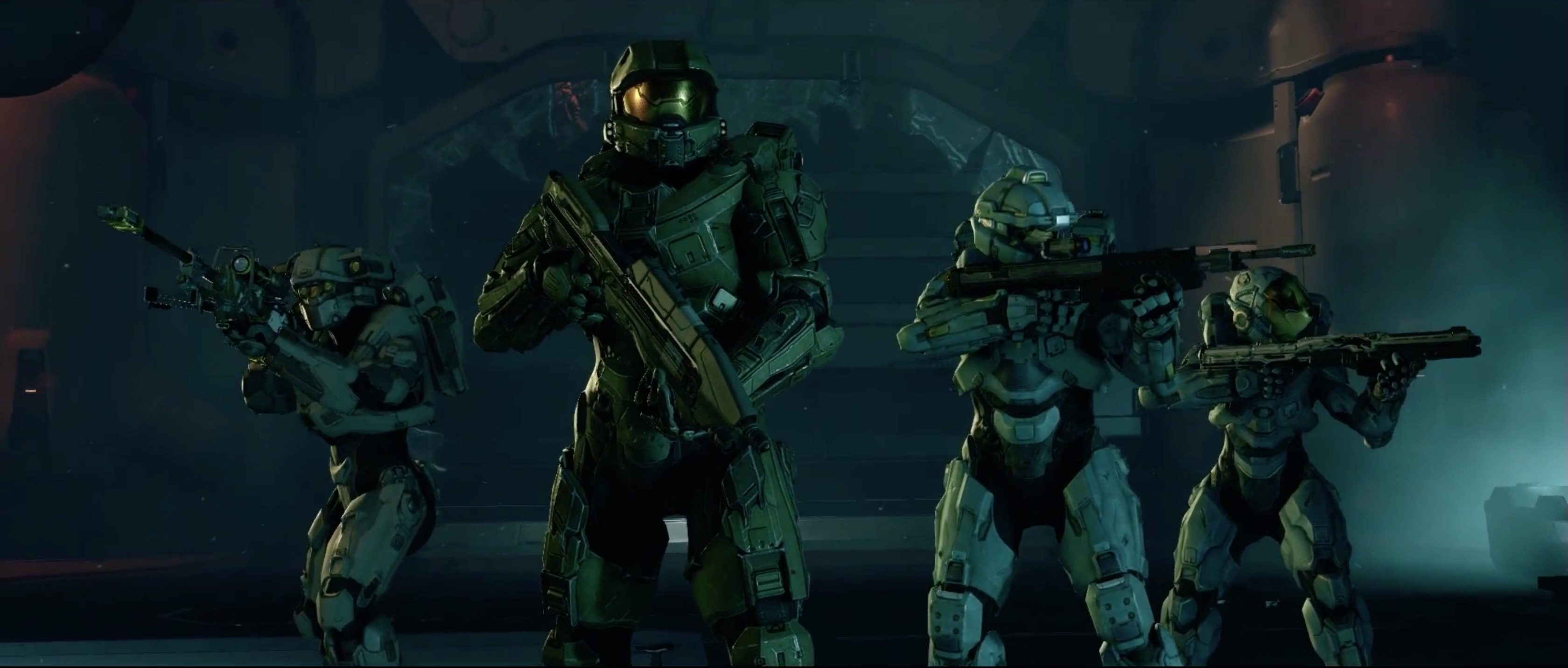 Halo 5 Blue Team Opening Cinematic 5