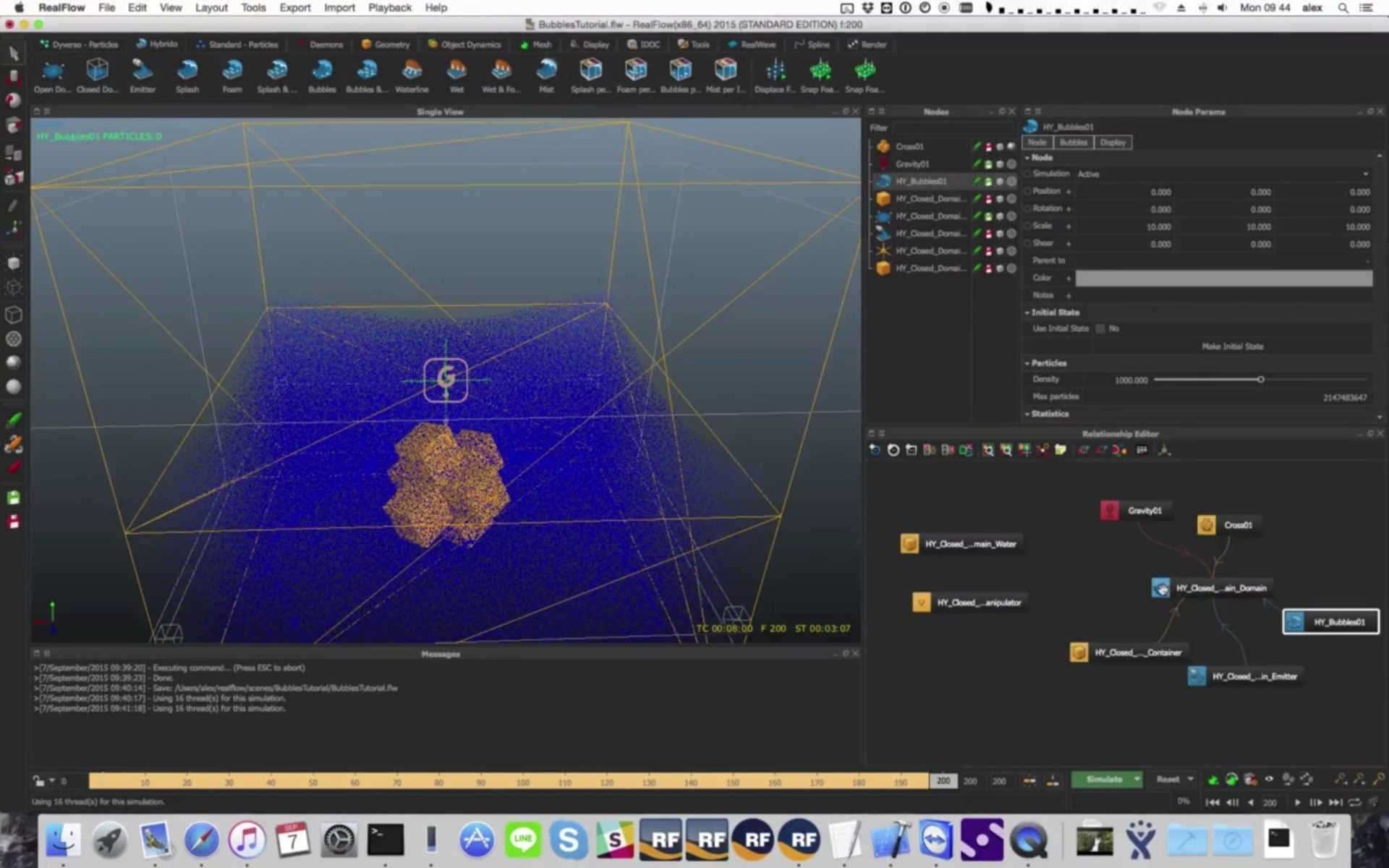 RealFlow 2015 Bubbles Tutorial