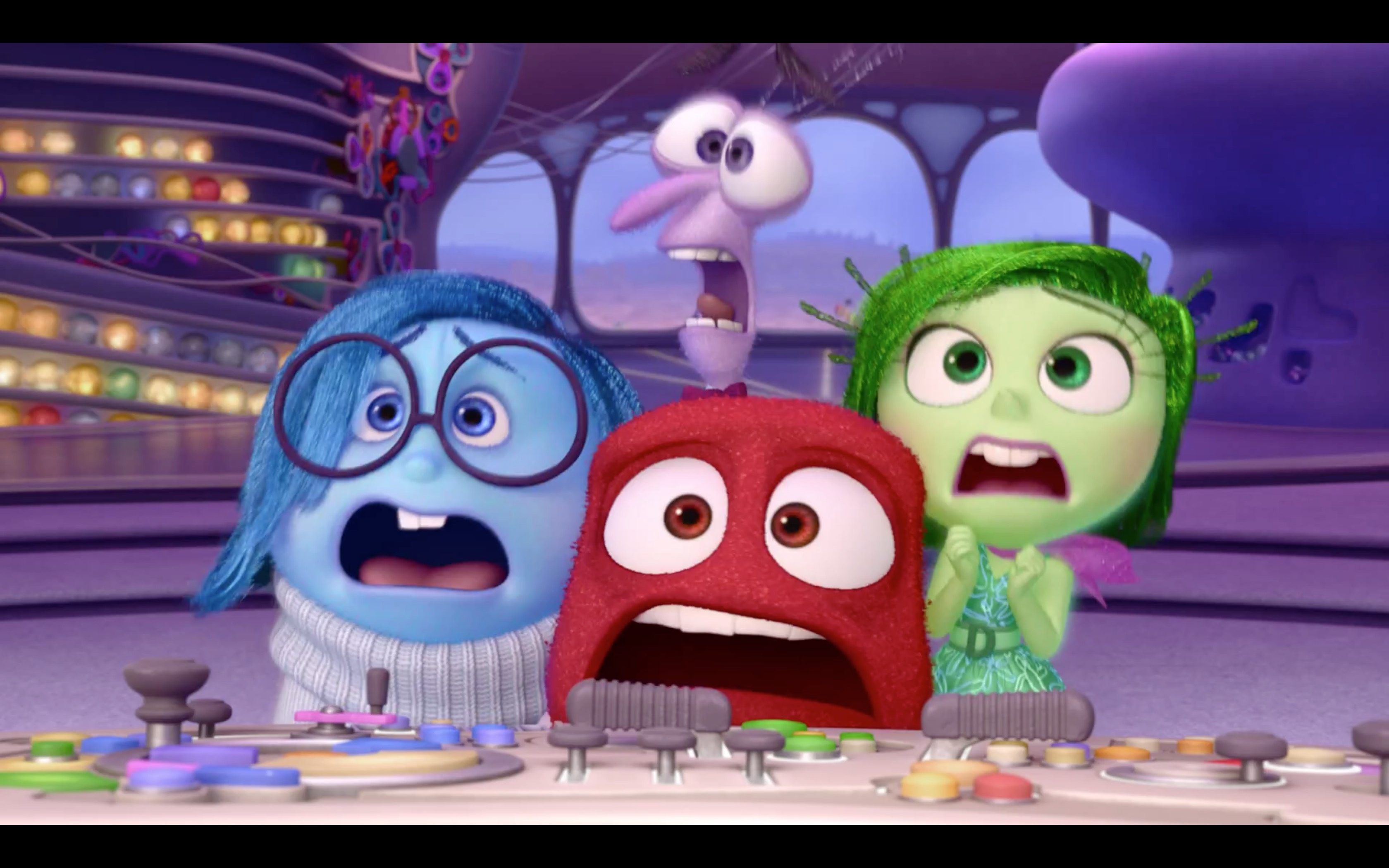 Inside Out Emotions React To Star Wars VII Trailer 5