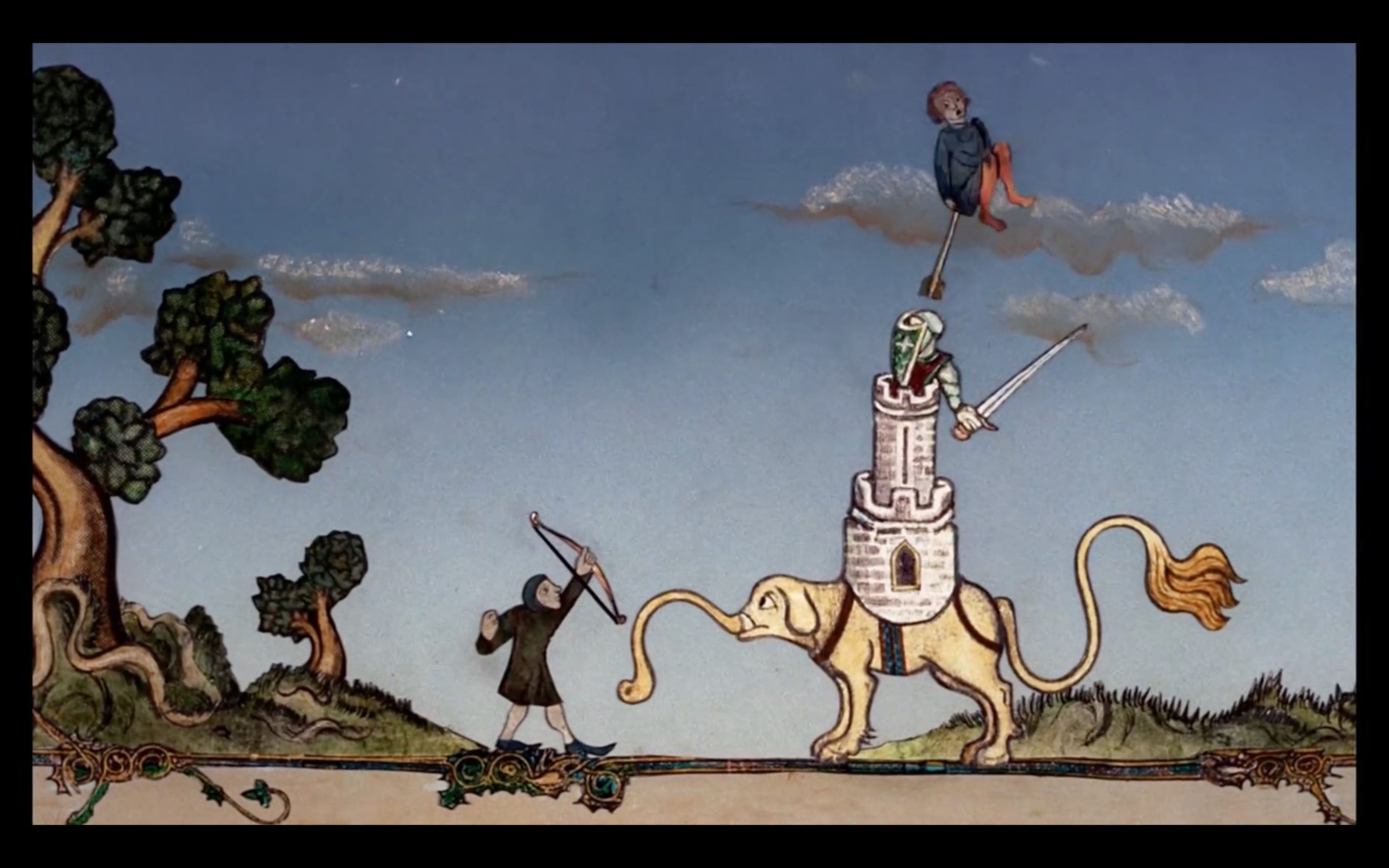 Terry Gilliam's Deleted Animations from Monty Python & The