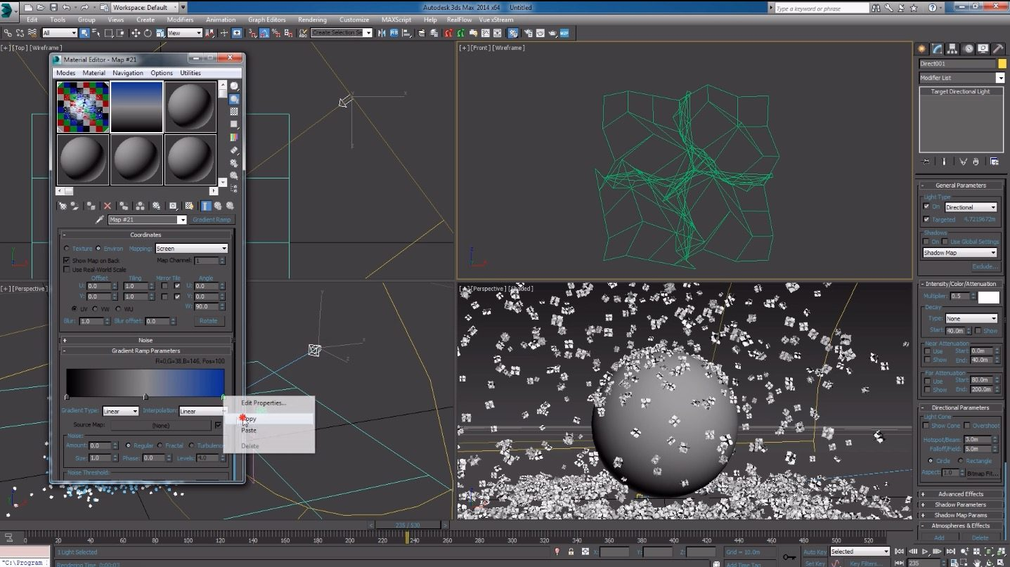 Creating Realistic Falling Snow With 3ds Max