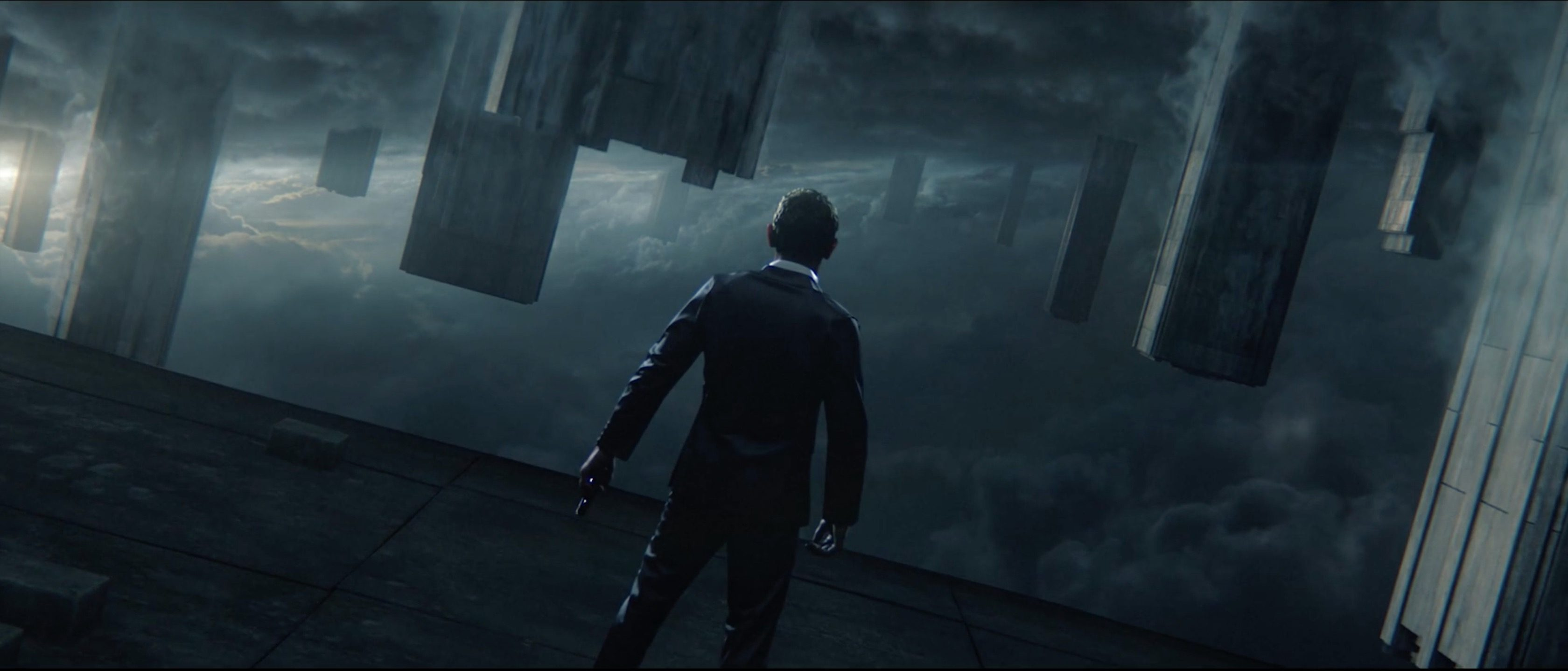 Homage to Skyfall title sequence