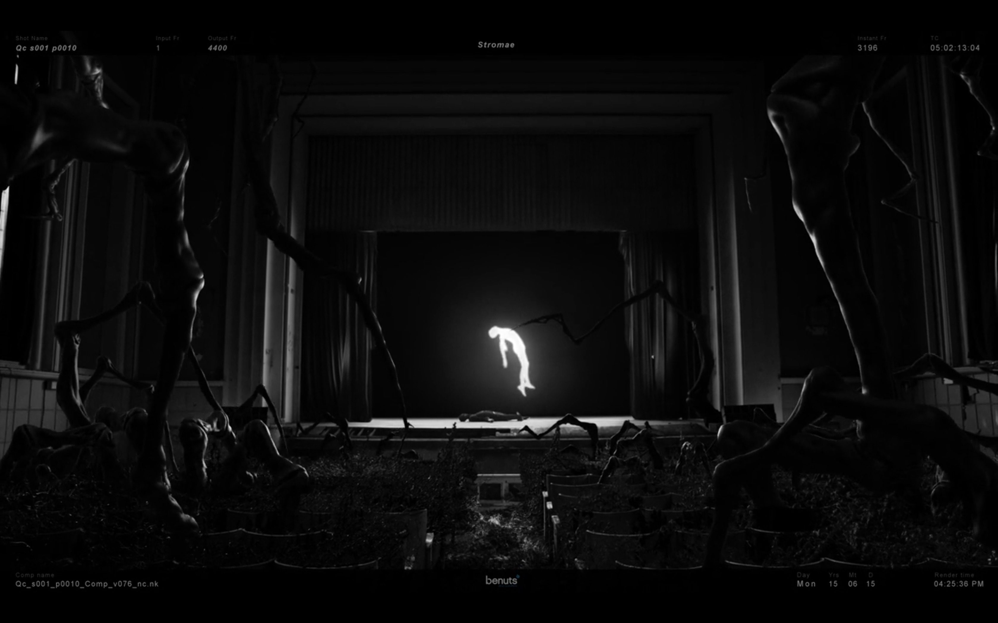 stromae quand c 39 est vfx breakdown. Black Bedroom Furniture Sets. Home Design Ideas