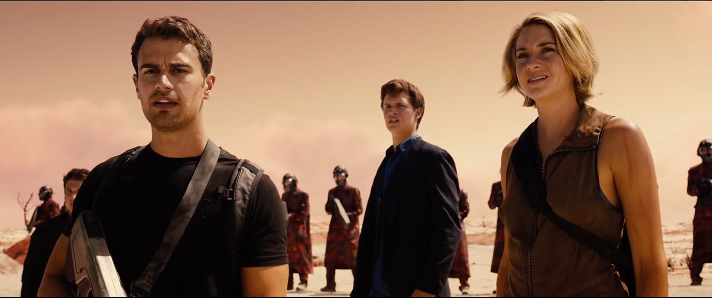 The Divergent Series Allegiant Trailer
