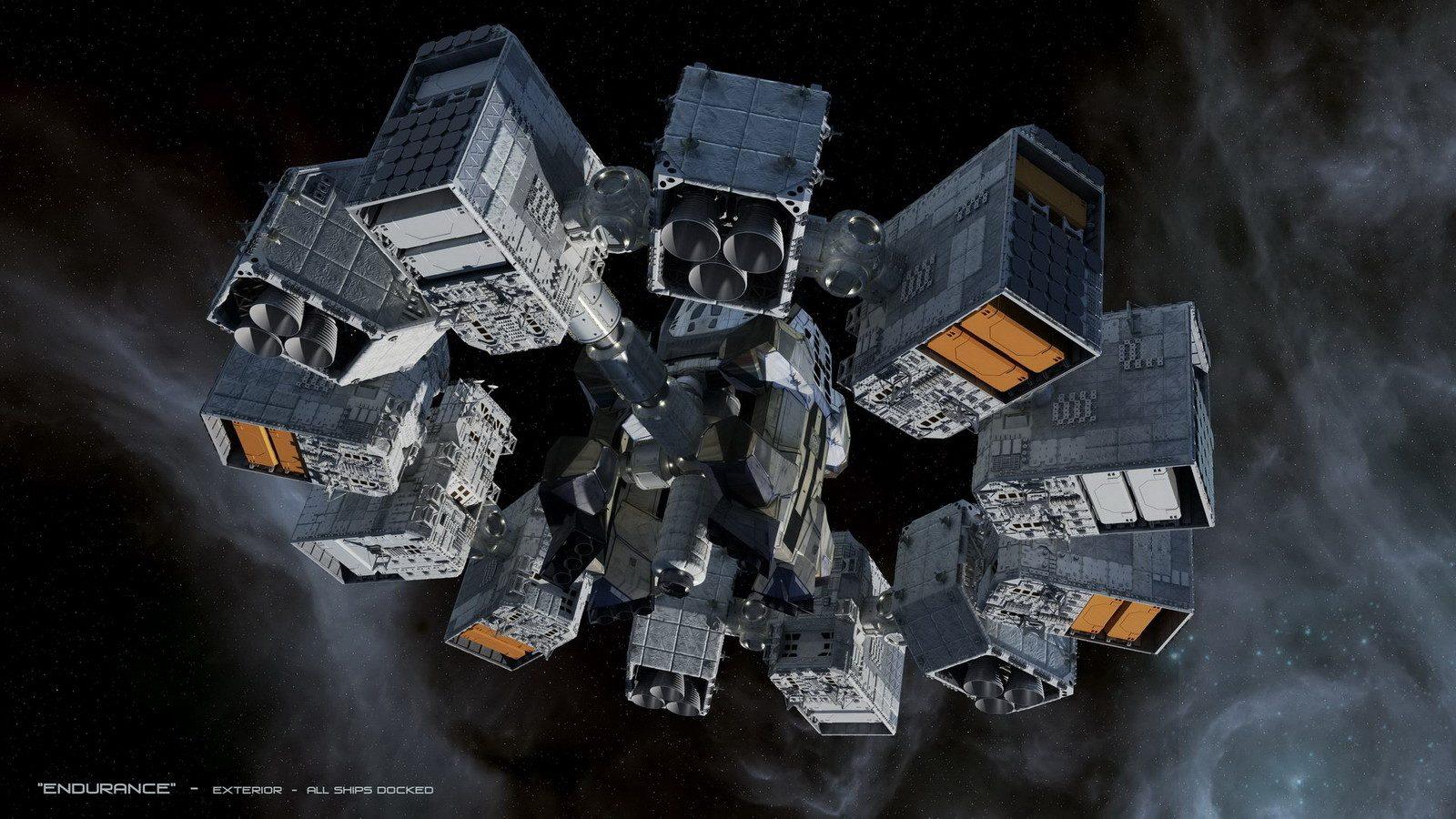 interstellar ranger spacecraft design - HD1600×900
