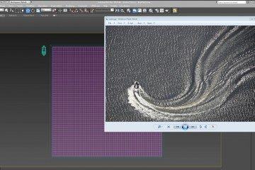 water simulation in 3dsmax