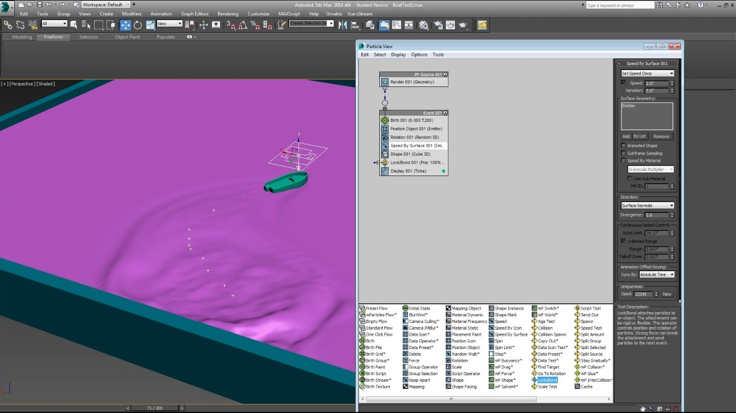 Water Simulation Tutorial in 3DS Max without plugin