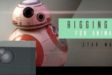 Rigging BB-8 from Star Wars