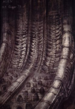 36 Unforgettable Concept Art By H R Giger For Aliens