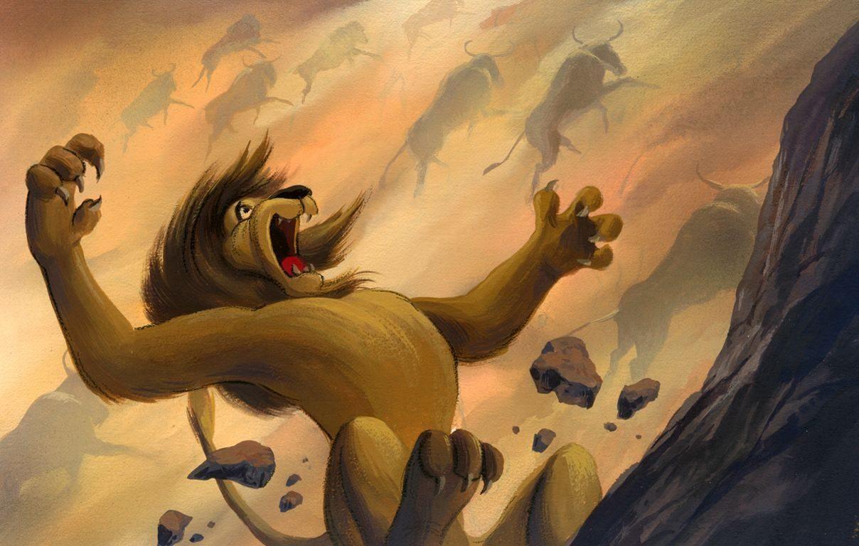 Lion King Concept Art 61