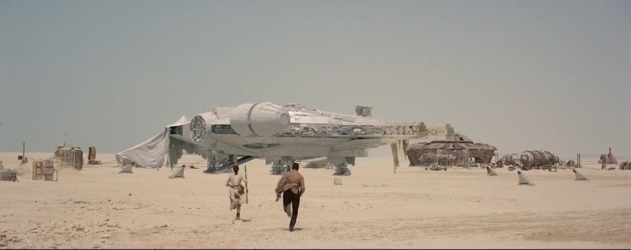 Making of Star Wars the Force Awakens Exclusive