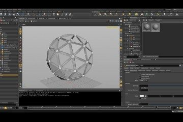 Creating a Tech Sphere in Houdini