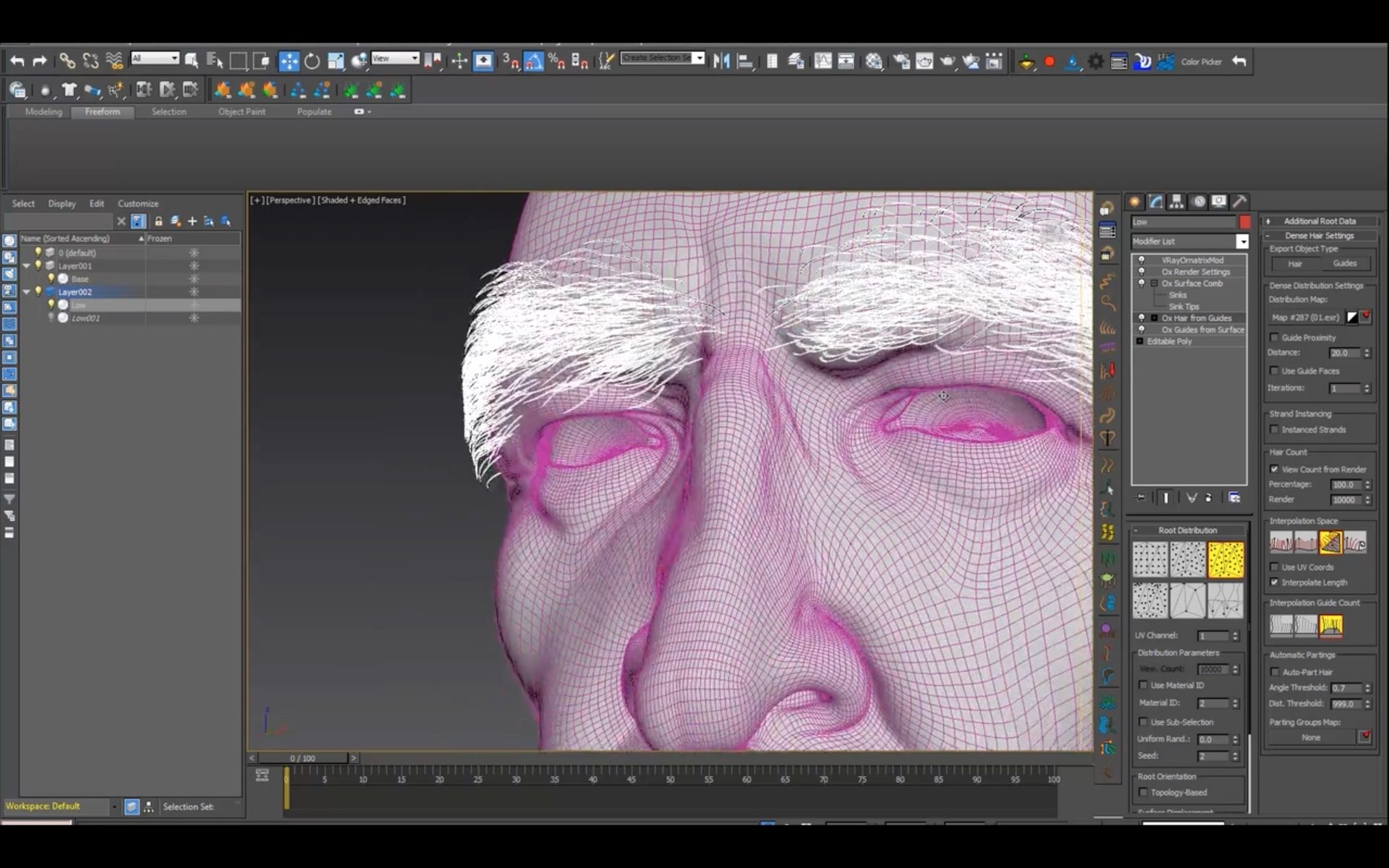 Creating Nader Shah with 3DS Max