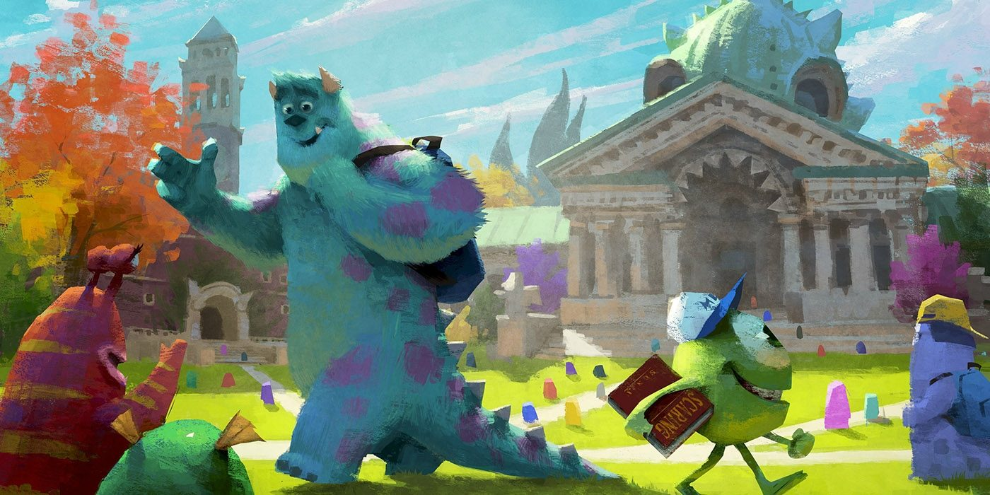 Monsters University Concept Art Collection