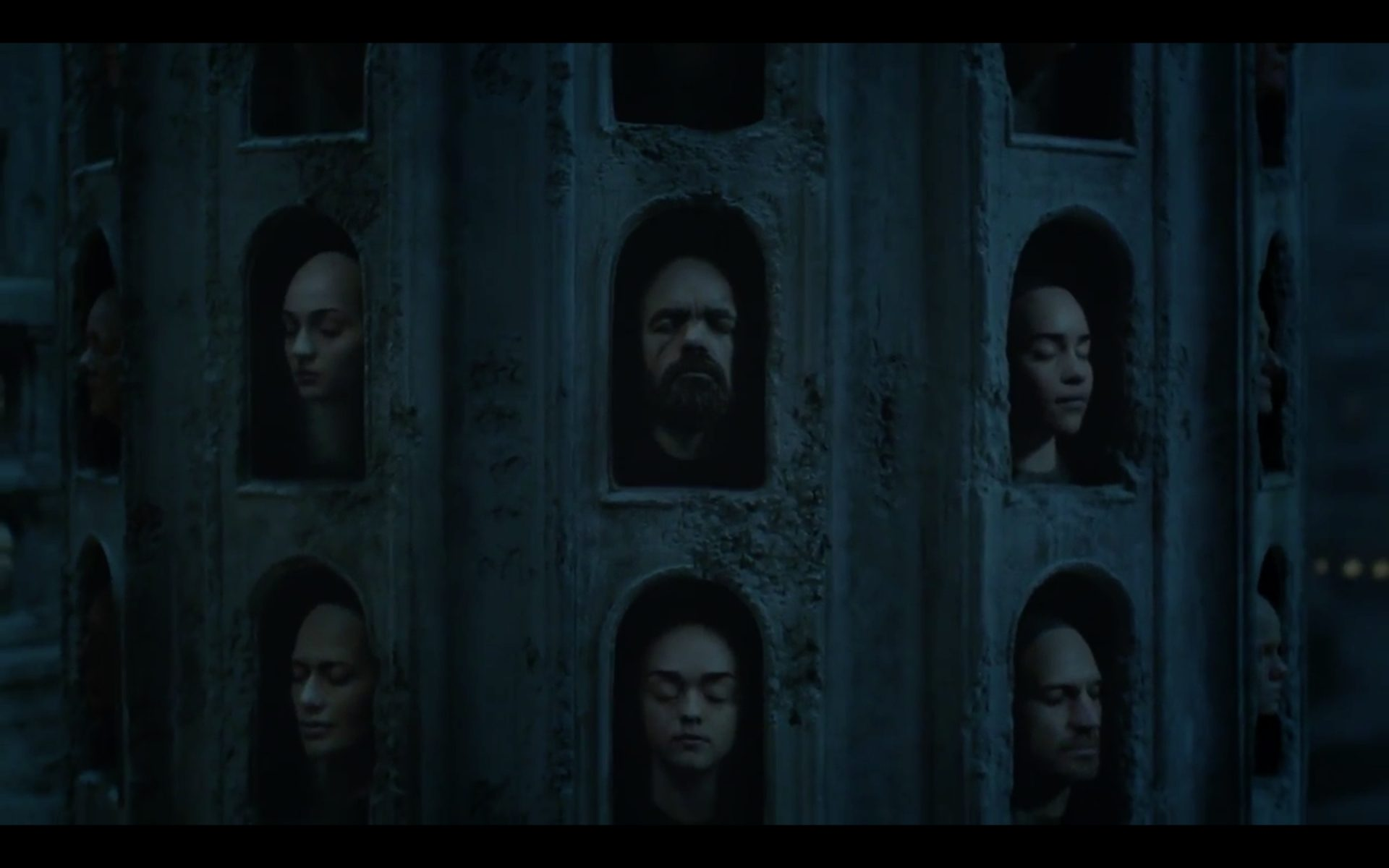 Game Of Thrones Season 6 Hall Of Faces