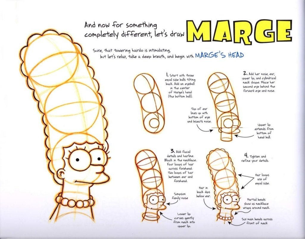 The Simpsons Original Model Sheets