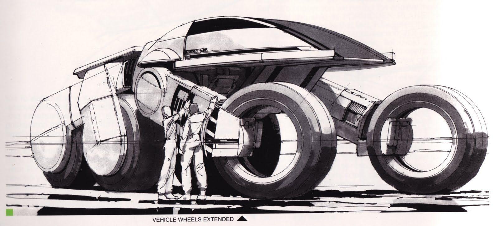 Tron Original Concept Art