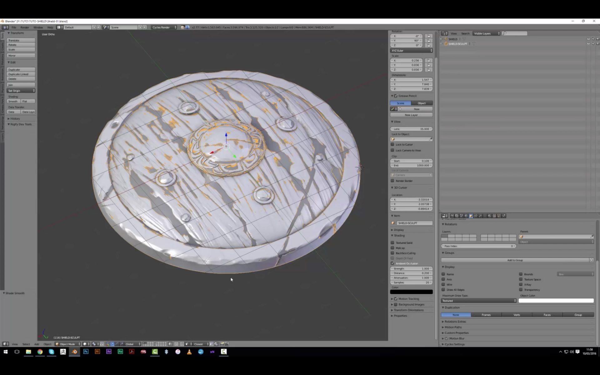 PBR Material Creation in Blender