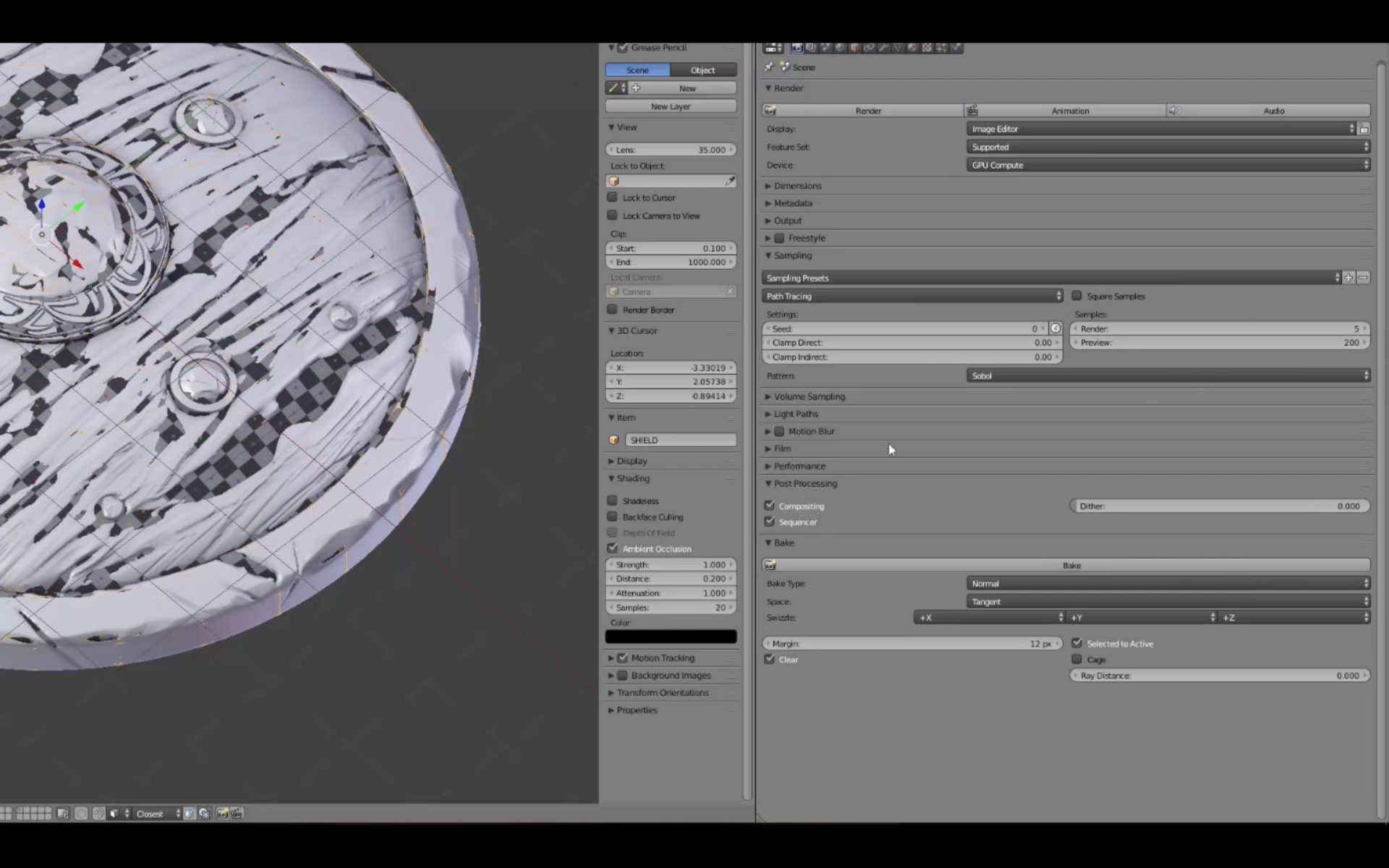 PBR Material Creation in Blender