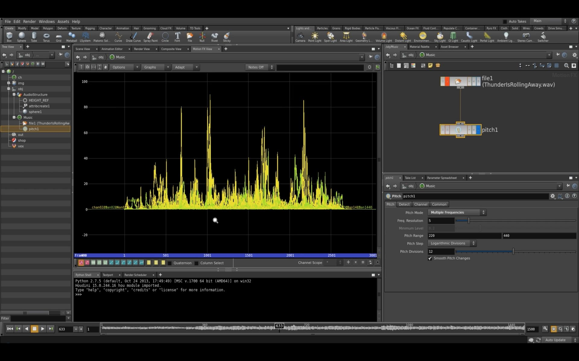 How To Create The Sound Wave