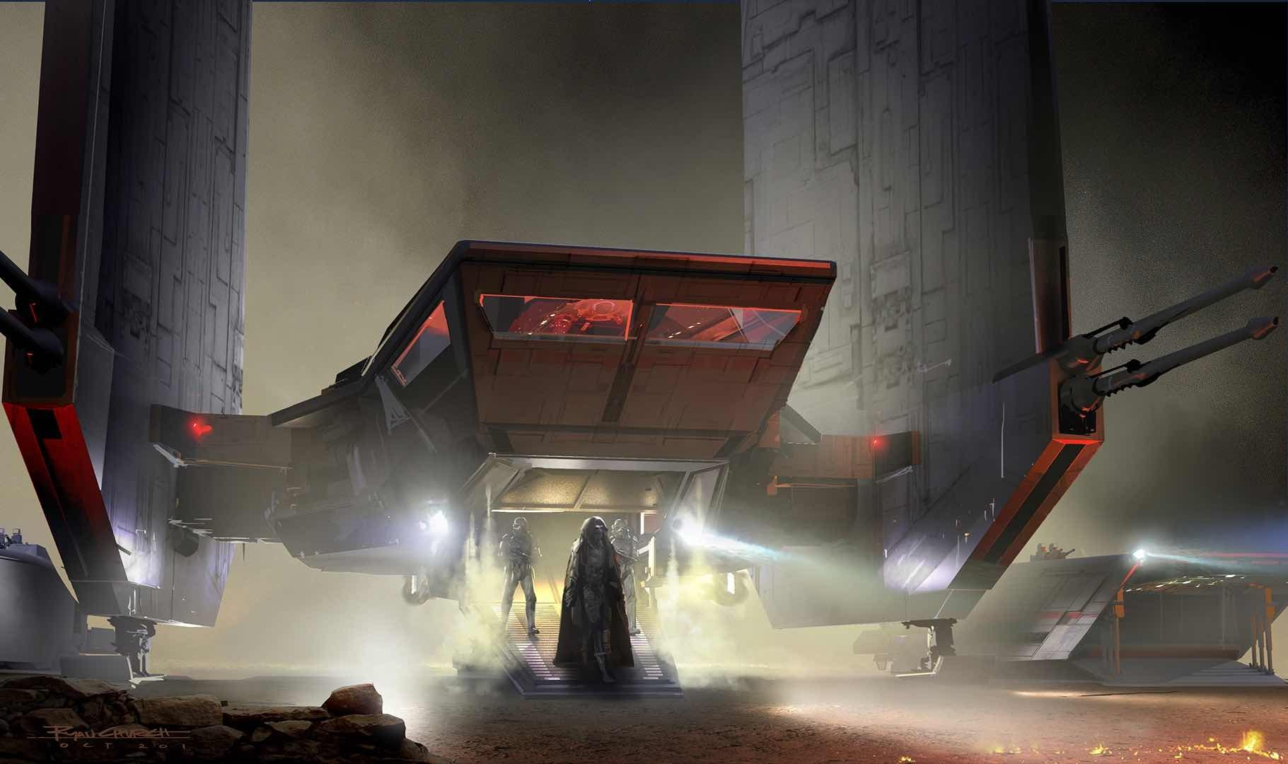 Star Wars VII The Force Awakens: 45 New Exclusive Concept Art