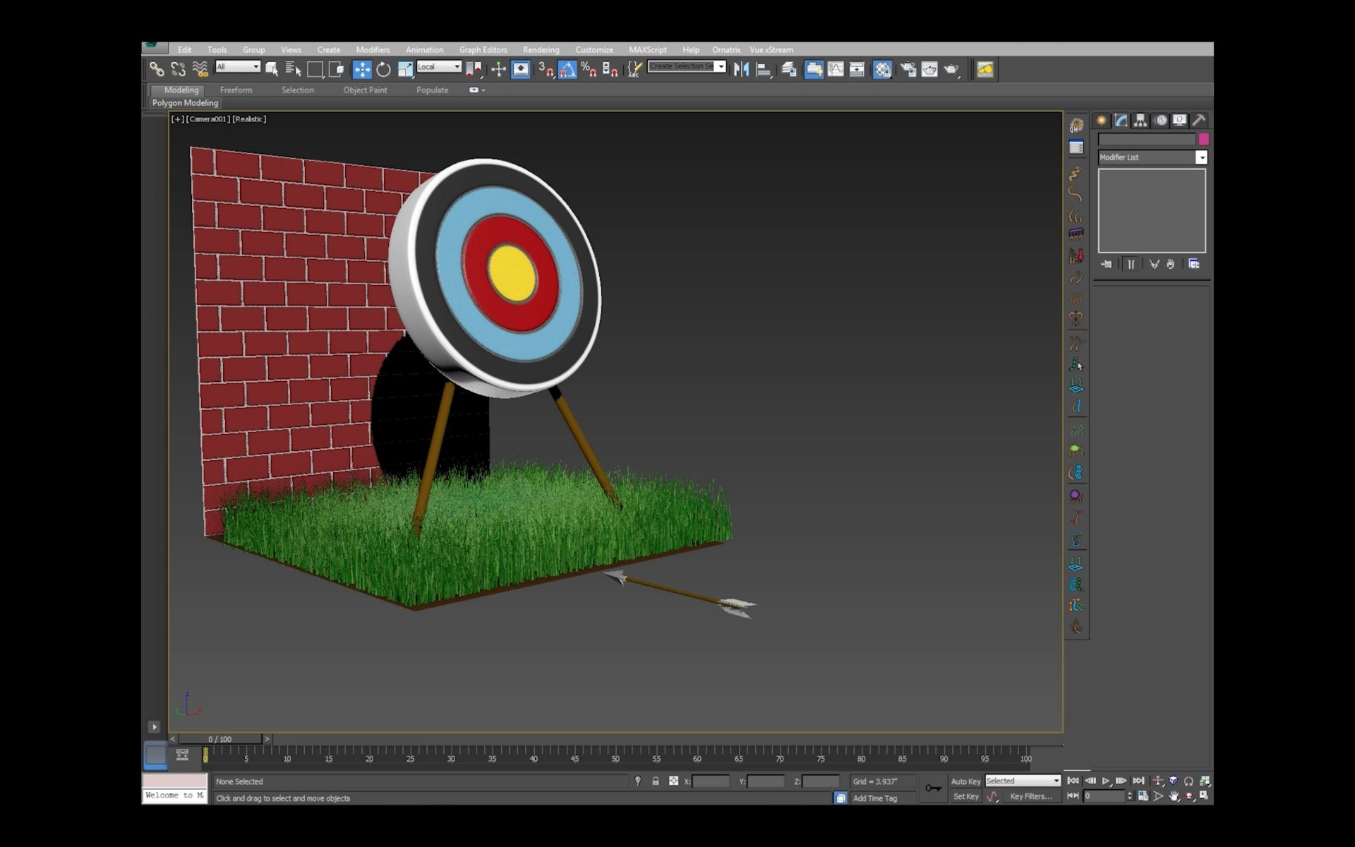 Archery with Particle Flow