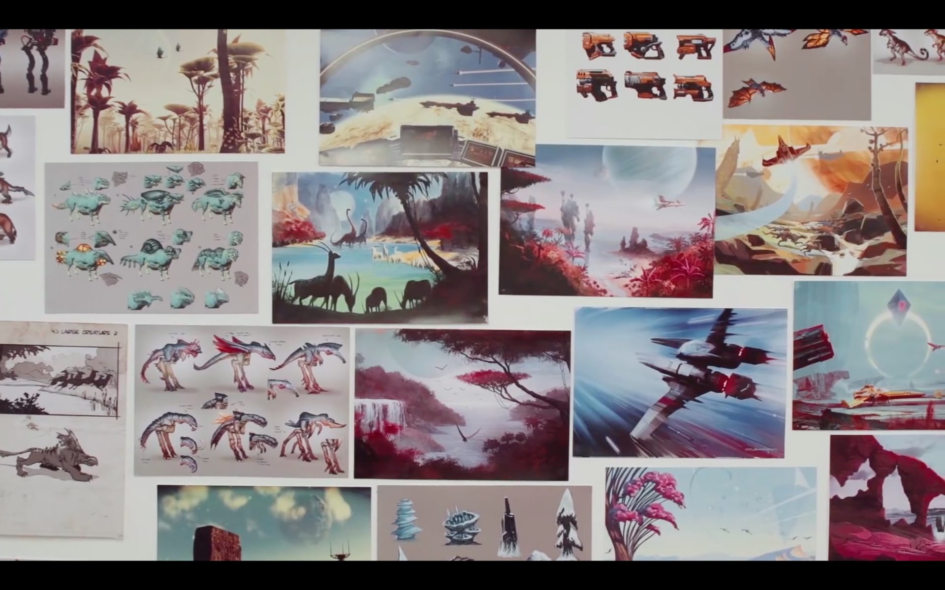 Making of: The Art of No Man's Sky