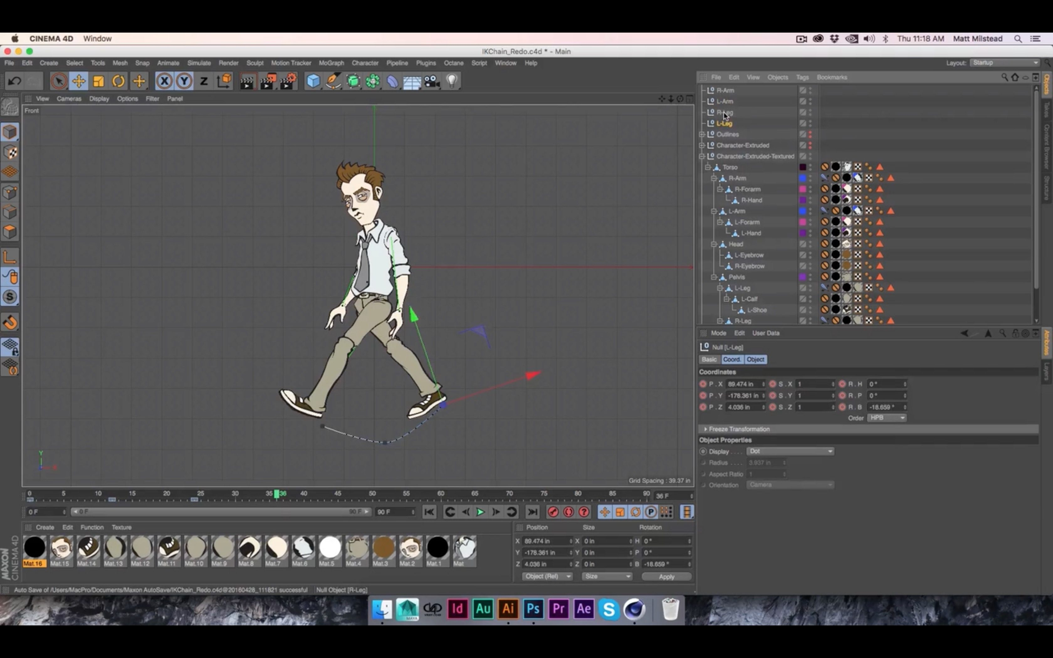 Character Design Cinema 4d Tutorial : Animating d characters from illustrator in c