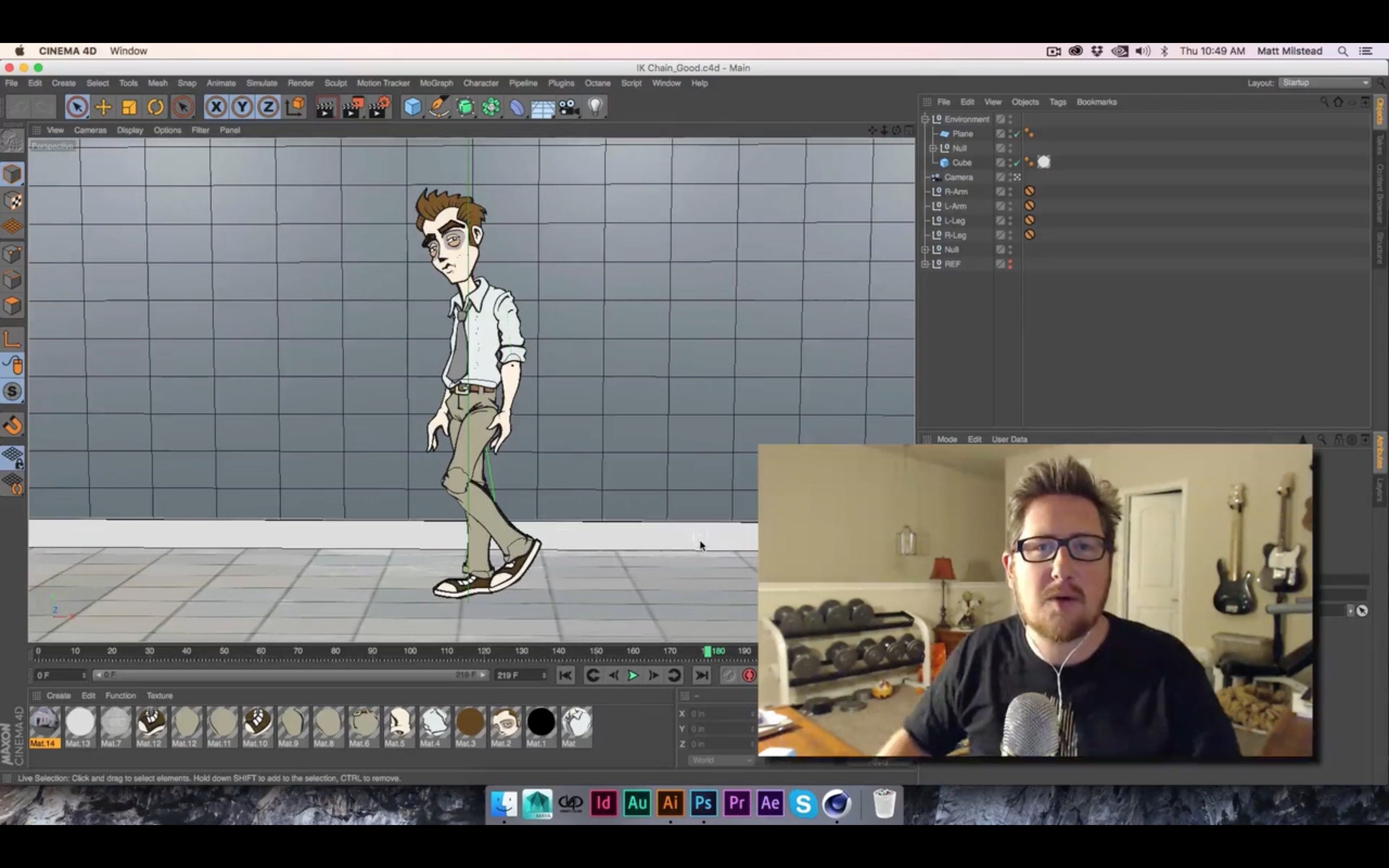 Animating 2D Characters from Illustrator in C4D