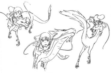 The Art Of Spirited Away 65 Original Character Design