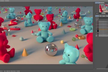 Optimising Scenes in Cinema 4D