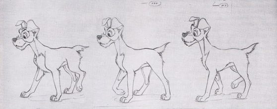 Lady And The Tramp 70 Original Concept Art Collection
