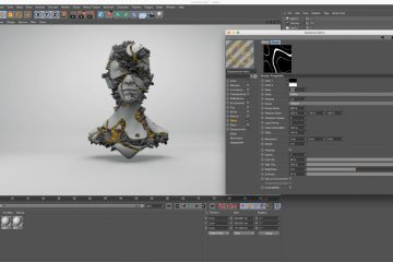 Displacement Maps in Cinema4D