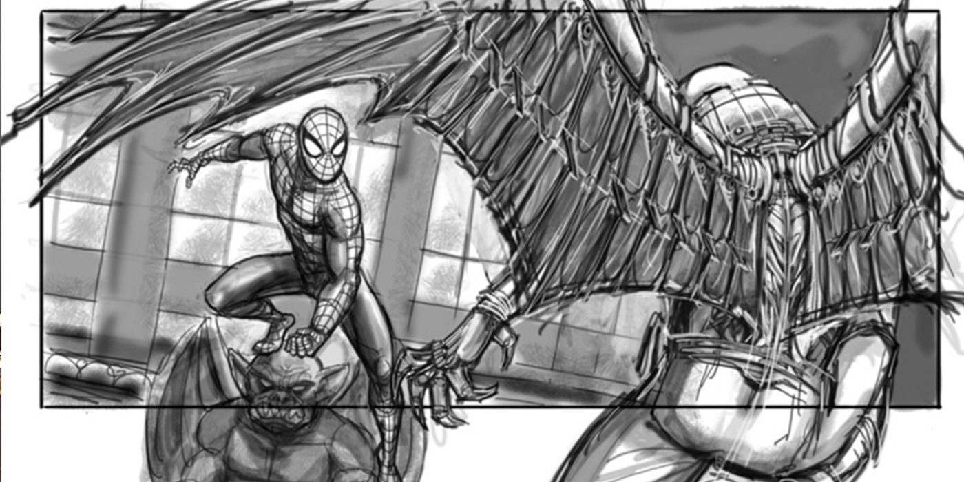 Storyboard Collection for Canceled Spiderman 4