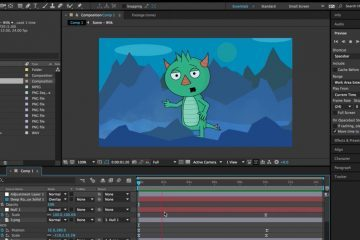 Making Your First Animated Character with After effects